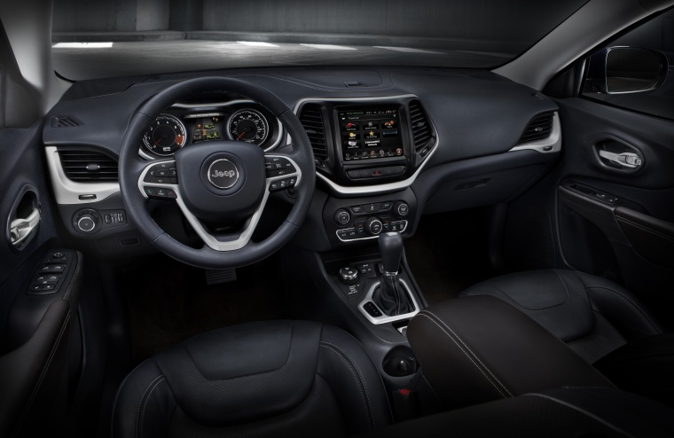 Picture of a 2017 Jeep Cherokee Limited 4WD's Cockpit