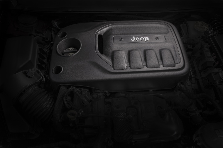 Picture of a 2020 Jeep Cherokee Limited 4WD's 2.4-liter 4-cylinder Engine