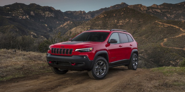 Research the 2020 Jeep Cherokee