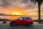 2018 Jeep Compass Limited 4WD in Redline Pearlcoat - Static Side View