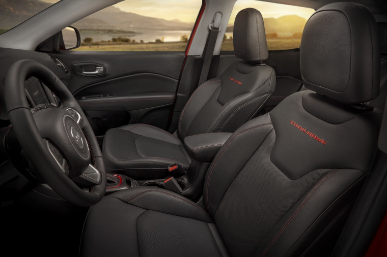 2019 Jeep Compass Trailhawk 4WD Front Seats Picture