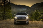 2019 Jeep Compass Limited 4WD in Billet Silver Metallic Clearcoat - Static Frontal View