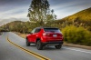 2020 Jeep Compass Limited 4WD in Redline Pearlcoat from a rear left view