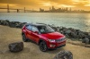 Picture of a 2020 Jeep Compass Limited 4WD in Redline Pearlcoat from a front right perspective