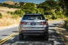 2020 Jeep Compass Limited 4WD in Billet Silver Metallic Clearcoat from a rear view