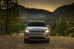Picture of a 2020 Jeep Compass Limited 4WD in Billet Silver Metallic Clearcoat from a frontal perspective