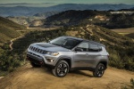 2020 Jeep Compass Trailhawk 4WD in Billet Silver Metallic Clearcoat - Static Front Left Three-quarter View
