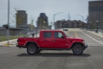 2020 Jeep Gladiator Crew Cab Rubicon 4WD in Firecracker Red Clearcoat - Driving Right Side View