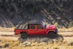 2020 Jeep Gladiator Crew Cab Rubicon 4WD in Firecracker Red Clearcoat - Driving Side View