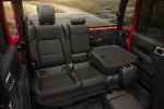 2020 Jeep Gladiator Crew Cab Rubicon 4WD Rear Seats with Backrest Folded
