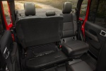 2020 Jeep Gladiator Crew Cab Rubicon 4WD Rear Seats with Seat Cushion Folded