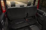 Picture of 2020 Jeep Gladiator Crew Cab Rubicon 4WD Rear Seats with Seat Cushion Folded