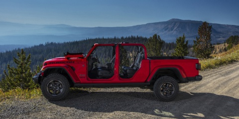 2020 Jeep Gladiator Sport, Overland, Rubicon Crew Cab V6 4WD Review