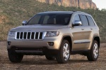 2013 Jeep Grand Cherokee Limited 4WD in White Gold Clearcoat - Static Front Left View