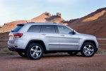 2013 Jeep Grand Cherokee in Bright Silver Metallic Clearcoat - Static Right Side View