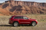 2013 Jeep Grand Cherokee Limited 4WD in Deep Cherry Red Crystal Pearlcoat - Static Right Side View