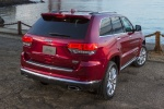 2015 Jeep Grand Cherokee Summit 4WD in Deep Cherry Red Crystal Pearlcoat - Static Rear Right View