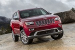 Picture of a 2016 Jeep Grand Cherokee Summit 4WD in Deep Cherry Red Crystal Pearlcoat from a front right perspective