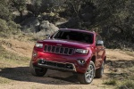 Picture of a 2016 Jeep Grand Cherokee Summit 4WD in Deep Cherry Red Crystal Pearlcoat from a front left perspective