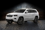 2016 Jeep Grand Cherokee Limited 4WD in Bright White Clearcoat - Static Front Left Three-quarter View