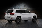 Picture of a 2016 Jeep Grand Cherokee Limited 4WD in Bright White Clearcoat from a rear right three-quarter perspective