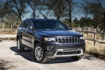 Picture of a 2016 Jeep Grand Cherokee Limited Diesel 4WD in Granite Crystal Metallic Clearcoat from a front right perspective