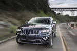 2016 Jeep Grand Cherokee Limited Diesel 4WD in Granite Crystal Metallic Clearcoat - Driving Front Left View