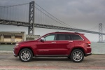 2016 Jeep Grand Cherokee Summit 4WD in Deep Cherry Red Crystal Pearlcoat - Static Left Side View