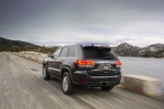 2016 Jeep Grand Cherokee Limited Diesel 4WD in Granite Crystal Metallic Clearcoat - Driving Rear Left Three-quarter View