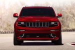 Picture of a 2016 Jeep Grand Cherokee SRT 4WD in Redline 2 Coat Pearl from a frontal perspective