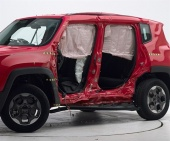 2016 Jeep Renegade IIHS Side Impact Crash Test Picture
