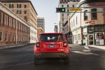 2016 Jeep Renegade Latitude 4WD in Colorado Red - Driving Rear View