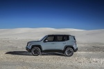 2016 Jeep Renegade Trailhawk 4WD in Glacier Metallic - Static Left Side View