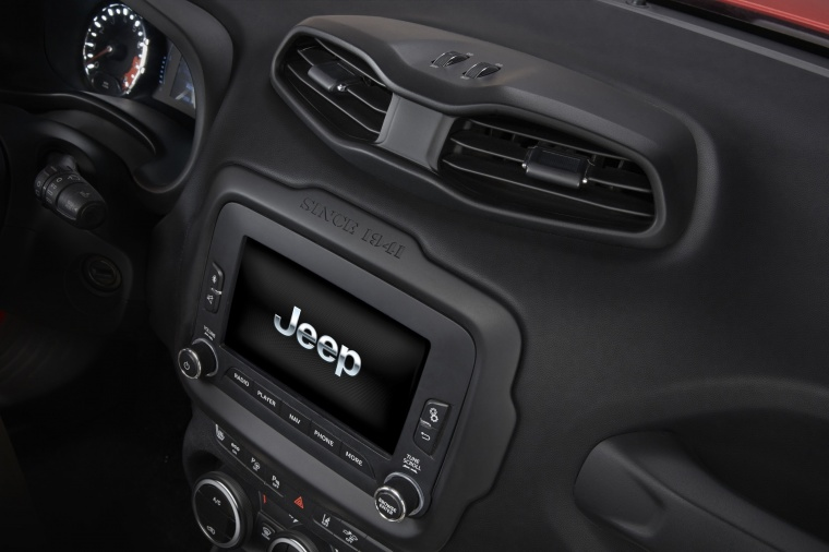 2017 Jeep Renegade Trailhawk 4WD Center Stack Picture