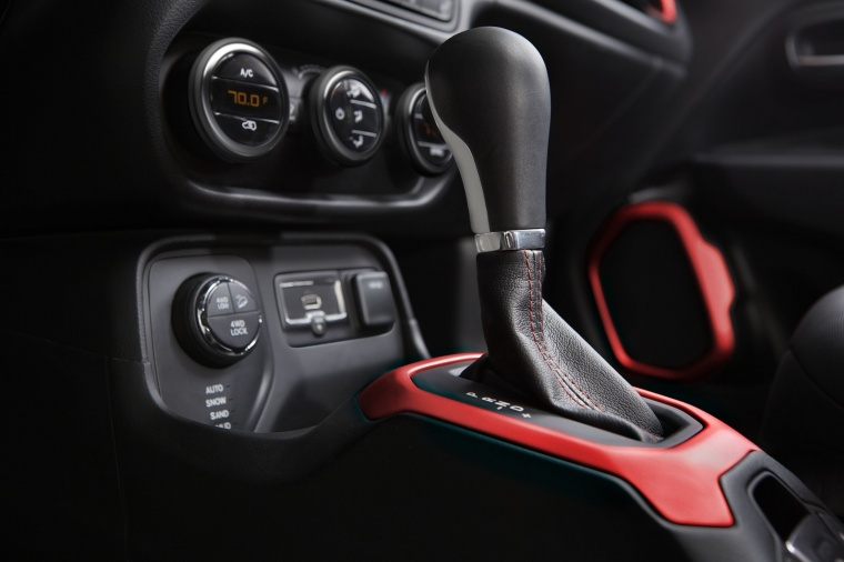 2017 Jeep Renegade Trailhawk 4WD Gear Lever Picture