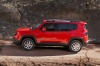 2017 Jeep Renegade Latitude 4WD in Colorado Red from a side view
