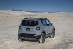 2018 Jeep Renegade Trailhawk 4WD in Glacier Metallic - Static Rear Right View