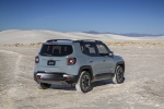2018 Jeep Renegade Trailhawk 4WD in Glacier Metallic - Static Rear Right Three-quarter View