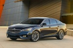 2017 Kia Cadenza in Gravity Blue - Static Front Left Three-quarter View