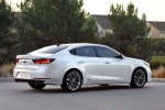 2017 Kia Cadenza in Snow White Pearl - Static Rear Right Three-quarter View