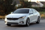 2017 Kia Cadenza in Snow White Pearl - Static Front Left View