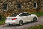 2017 Kia Cadenza Limited in Snow White Pearl - Static Rear Right Three-quarter View