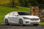 2017 Kia Cadenza Limited in Snow White Pearl - Static Front Right View