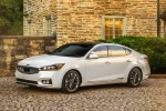2017 Kia Cadenza Limited in Snow White Pearl - Static Front Left Three-quarter View