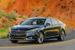 2017 Kia Cadenza in Gravity Blue - Driving Front Left View