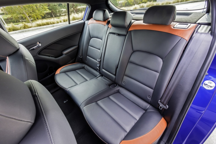 2018 Kia Forte5 Hatchback Rear Seats Picture