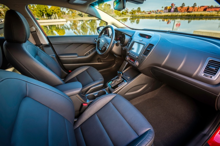 2018 Kia Forte Sedan Front Seats Picture