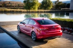 2018 Kia Forte Sedan in Currant Red - Static Rear Left View