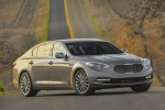 2016 Kia K900 Luxury V8 in Mineral Silver - Static Front Right View