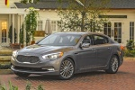 2016 Kia K900 Luxury V8 in Mineral Silver - Static Front Left Three-quarter View